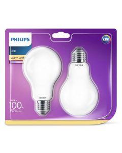 2PAK Żarówka LED E27 A70 11,5W = 100W 1521lm 2700K Ciepła 300° PHILIPS