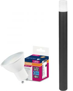 Lampa ogrodowa Ledvance BOLLARD 800 OKRĄGŁY SŁUPEK 80cm + LED 6,9W Zimna OSRAM