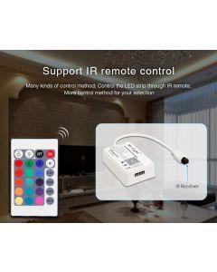 KONTROLER sterownik do taśm LED Wi-Fi Mini RGBW + pilot IR Mi-Light - YL2S