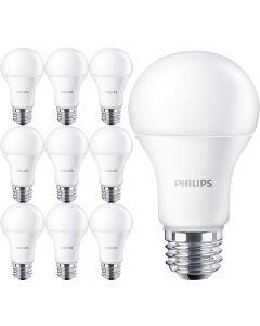 10x Żarówka LED E27 A60 10W = 75W 1055lm 6500K Zimna 200° PHILIPS