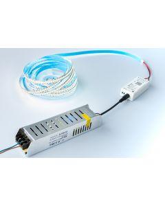 Taśma LED 120W SMD2835 Neutralna IP20 5m + Sterownik SMART TUYA WiFi + Zasilacz