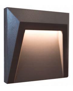Lampa SCHODOWA  OGRODOWA LED HOLDEN 1,5W Neutralna szara POLUX